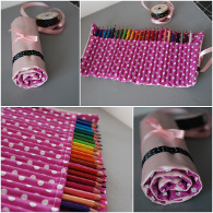 Trousse Girly 24 crayons